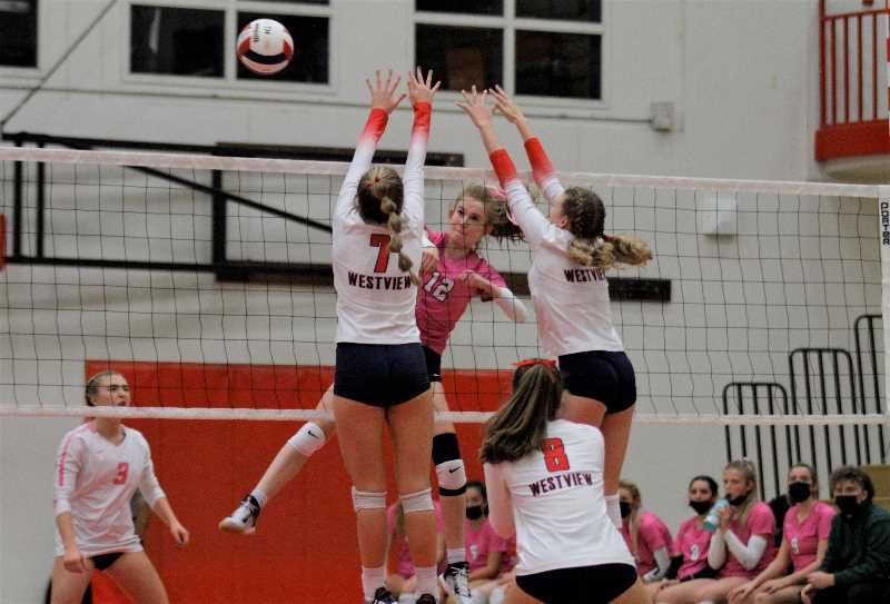 Jesuit clinches Metro League volleyball title with win over Westview