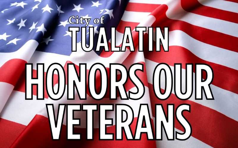 Tualatin honors those who served with yard signs