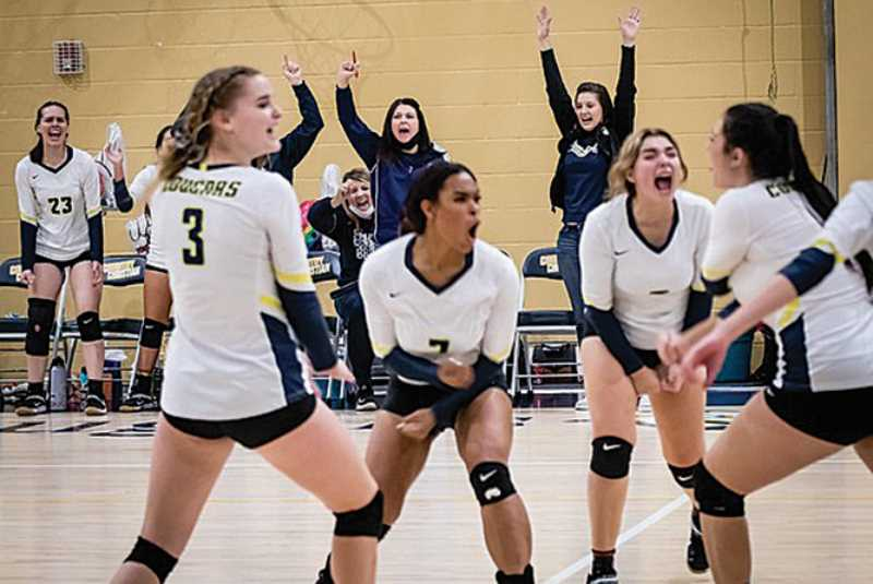 Country Christian volleyball squad snags third