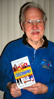 by: Elizabeth Ussher Groff, Reed neighborhood resident Bud Frimoth, with his award-winning new book.
