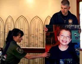 by: L.E. Baskow, Multnomah County Sheriff's Capt. Jason Gates told reporters Friday that rumors about Kyron Horman's disappearance were unfounded. Gates also said the boy's family was cooperating in the investigation.