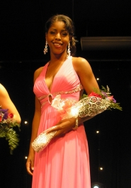 by: ellen sPITALERI Miss Portland Alexandria Henderson was named the fourth runner-up in Saturday's Miss Oregon competition in Seaside.