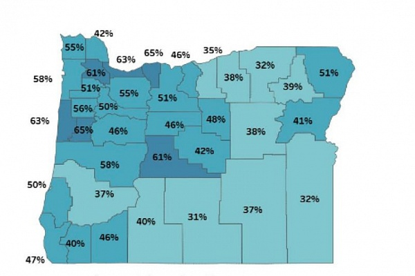 Brown: Oregon could lift COVID restrictions when 70% of residents vaccinated