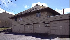 by: TUALATIN VALLEY FIRE & RESCUE - The old Rosemont Fire Station, likely built in the 1940s, was a grange before becoming a fire station.