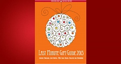 (Image is Clickable Link) Last Minute Gift Guide 2013