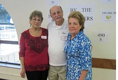 by: BARBARA SHERMAN - APPRECIATED BY MANY - Honored as the Tigard Senior Center's 2014 Volunteers of the Year are Alma Allen (left) and Ralph and Nancy Arditi, who were introduced at the center's annual volunteer reception held April 30.