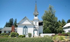 by: ISABEL GAUTSCHI - The Springwater Presbyterian Church is turning 125-years-old. Kathy Scott is chairing the committee for the celebration happening Friday-Saturday July 19-20.