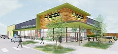 Photo Credit: COURTESY OF NEW SEASONS MARKET - A rendering shows the New Seasons Market planned in North Portland.