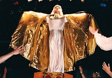 by: COURTESY PHOTO: MICHAEL SHAFER-MONTGOMERY - German student Emanuel Schultz wears his final, shiny coat in the final scene in the German production of 'Joseph and the Amazing Technicolor Dreamcoat' in 1999. A documentary filmed at the time will be shown Monday at the Elsie Stuhr Center.