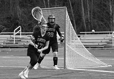 Photo Credit: COURTESY PHOTO: BRYON HENDERSON - Beaverton High girls lacrosse goalie Caitlyn Henderson was a first-team All-American selection this season for the Beavers after a standout solo year. Henderson will attend Colorado Mesa University in the fall.
