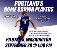 Ariel Viera will be featured on September 28 in a home game at Merlo Field against the Washington Huskies. Tickets start at just $8.