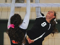 Photo Credit: ESTACADA NEWS: FILE PHOTO - Tori Johnson and the Rangers have become a force in volleyball in recent years, but will get a challenge this fall with the addition of 3A powerhouse Corbett.