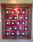 Photo Credit: SUBMITTED PHOTO - Jeanne Zuelke will display her quilts at Trainers Club during the month of August.