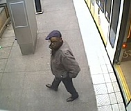 Photo Credit: PORTLAND POLICE BUREAU - Surveillance photo of flashing suspect.