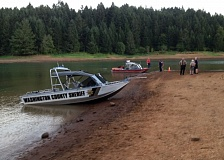 Photo Credit: WASHINGTON COUNTY SHERIFF'S OFFICE - Searchers will continue looking for the family of a child who drowned in Hagg Lake on Tuesday.