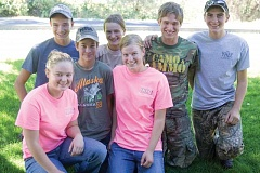 Photo Credit: KEVIN SPERL - Central Oregon Youth Hunter Education Challenge teams recently took part in the international challenge in Pennsylvania. Front row from left: Kayla Pieren, Landen Graves, and Karinda Pieren. Back row: Justin Smith, Janae Graves, Braden Graves and David Leavitt.