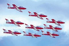 Photo Credit: COURTESY PHOTO - The Canadian Forces Snowbirds will perform at the Oregon International Air Show in Hillsboro.