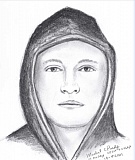 Photo Credit: COURTESY PHOTO - This is a composite drawing of a man suspected in the homicide death of Nicole Laube of Forest Grove last month.