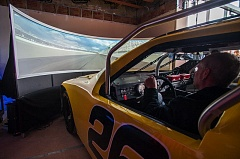 Photo Credit: SPOKESMAN FILE PHOTO: JOSH KULLA - Interactive exhibits like this racing simulator will be a big part of the World of Speed motorsport museum in Wilsonville. It announced its doors will open to the public in April 2015.