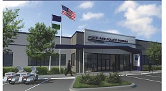 Photo Credit: COURTESY PORTLAND POLICE BUREAU - Artists rendering of Portland Police Bureau's Training Complex.