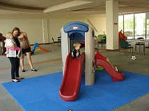 Photo Credit: SUBMITTED PHOTO - Rain or shine, Lake Oswego Parks and Recreations indoor playground is open for fun.