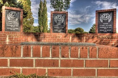 Photo Credit: KEVIN SPERL - The Circle of Honor monument at Ochoco Creek Park will be the site of a ceremony in honor of all prisoners of war, those missing in action and the events of 9/11.