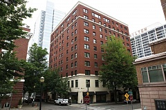 Photo Credit: TRIBUNE FILE PHOTO: JAIME VALDEZ - The original Heathman Hotel on Southwest Salmon Street near the South Park Blocks has been named to the National Register of Historic Places. The 11-story building has been converted to affordable housing.