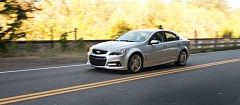 Photo Credit: TRIBUNE PHOTO JOHN M. VINCENT - The 2015 Chevy SS is a genuine high performance car disguised as a family sedan.