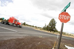 Photo Credit: KEVIN SPERL - The Tom McCall/Highway 126 intersection has seen more traffic in recent years due to the arrival of several new businesses, including the Facebook and Apple data centers.