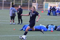 Photo Credit: COREY BUCHANAN - Skylee Doman has assisted 14 of Canby's 30 goals this season.