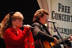 Photo Credit: SUBMITTED PHOTO - Jimmie Ray Cantrell channels Johnny Cash for his tribute to the 'Man in Black,' accompanied by his wife, Cyndi Cantrell, who will perform the hits of June Carter Cash.