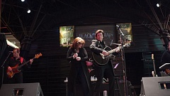 Photo Credit: SUBMITTED PHOTO - Jimmie Ray Cantrell and his wife, Cyndi, perform shows across  the country. Their tribute to Johnny Cash on Saturday in Hillsboro serves as a benefit for the Beaverton Historical Society.