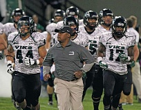 Photo Credit: TRIBUNE FILE PHOTO: JONATHAN HOUSE - Nigel Burton, in his fifth season as football coach at Portland State, points to some progress on and off the field, but fans haven't responded and some say the program needs to somehow become more relevant in the citys sports landscape.