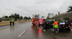 Photo Credit: OSP - Dr. Steven Fritz, the husband of Portland City Commissioner Amanda Fritz, died in this crash on I-5 near Salem, Sept. 24.