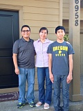 Photo Credit: TRIBUNE PHOTO: KENDRA HOGUE - After receiving Spanish-language housing counseling from the Portland Housing Center, the Flores family moved to a brand-new, four-bedroom home in Beaverton eight months ago. From left, David, Martha and David Benjamin Flores, 14.