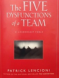Photo Credit: CONTRIBUTED PHOTO - The Wilsonville Leadership Academy will include a book study on The 5 Dysfunctions of a Team, by Patrick Lencioni, a noted author of books on business managment.