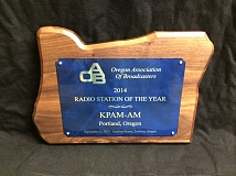 KPAM AM860 was recently named Radio Station of the Year by the Oregon Association of Broadcasters.