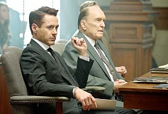 Photo Credit: SUBMITTED PHOTO - Open now - Robert Downey Jr. and Robert Duvall partner as son and father in the new film 'The Judge,' which opened Friday.