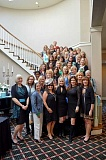 Photo Credit: SUBMITTED PHOTO - Members of the Lake Oswego Womens Club celebrated the groups 40th anniversary with a fashion show and luncheon Sept. 25. The event raised more than $4,000, which will be used to support programs benefiting women and children.