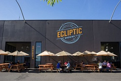 Photo Credit: COURTESY OF ECLIPTIC BREWING - Ecliptic Brewing celebrates its one-year anniversary at 825 N. Cook St. with an intergalactic planetary party to eclipse all others. On Thursday, Oct. 23, owner/brewmaster John Harris will host an eclipse viewing party from Ecliptic's parking lot.