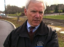 Photo Credit: KOIN 6 NEWS - Bureau of Environmental Services Director Dean Marriott was placed on paid administrative leave after an audit was released criticizing cost increases at a new building.