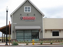 Photo Credit: GAZETTE PHOTO: RAY PITZ - Chipotle Mexican Grill opened last Thursday in Parkway Village in Sherwood.