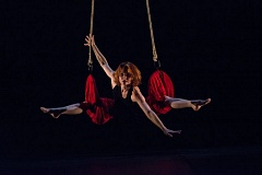 Photo Credit: SUBMITTED PHOTO - French aerial pioneer Fred Deb returns to Pendulum Aerial Arts for special performance.