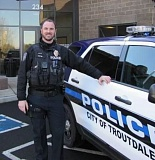 Photo Credit: CONTRIBUTED: TROUTDALE POLICE DEPARTMENT - Troutdale Officer Jeff Potter