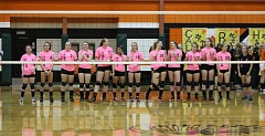 Photo Credit: JIM BESEDA/MOLALLA PIONEER - The Molalla High School volleyball team cut its season short, skipping Monday's Tri-Valley Conference playoff game at Corbett after a number of players faced disciplinary action for breaking the school's athletic code of conduct.