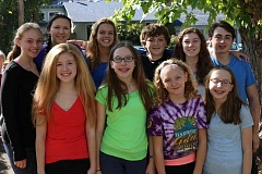Photo Credit: SUBMITTED PHOTO - Krayon Kids will present Surviving FIlmore Academy from Nov. 7 to Nov. 23 at the Barclay Theater in Oregon City. Local actors in the performance include (back row from left): Miraca Bogard, Claire Newrones, Bethan Cleminson, Michael Meier, Natalie Scott and Mason Heghardt, and (front row from left) Calais Radcliffe, Briana Alexander, Aislinn McCarthy and Ashley Alexander.