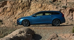Photo Credit: JOHN M. VINCENT - The new Volvo V60 station wagon may be the sexist looking family hauler on the market.