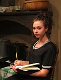 Photo Credit: PHOTO COURTESY: KELLY LAZENBY - Rae Taylor, 14, is playing the young Anne Frank in the play, The Diary of Anne Frank, at the Nutz-n-Boltz Theater in Boring.