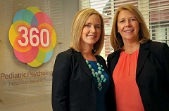 Photo Credit: STAFF PHOTOS: VERN UYETAKE - Licensed clinical psychologists Erika Doty and Tabitha Becker have opened 360 Pediatric Psychology, P.C.  in Lake Oswego.