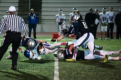 Photo Credit: SUBMITTED PHOTO: GREG ARTMAN - The Wilsonville defense stymied the Hillsboro attack the entire game.